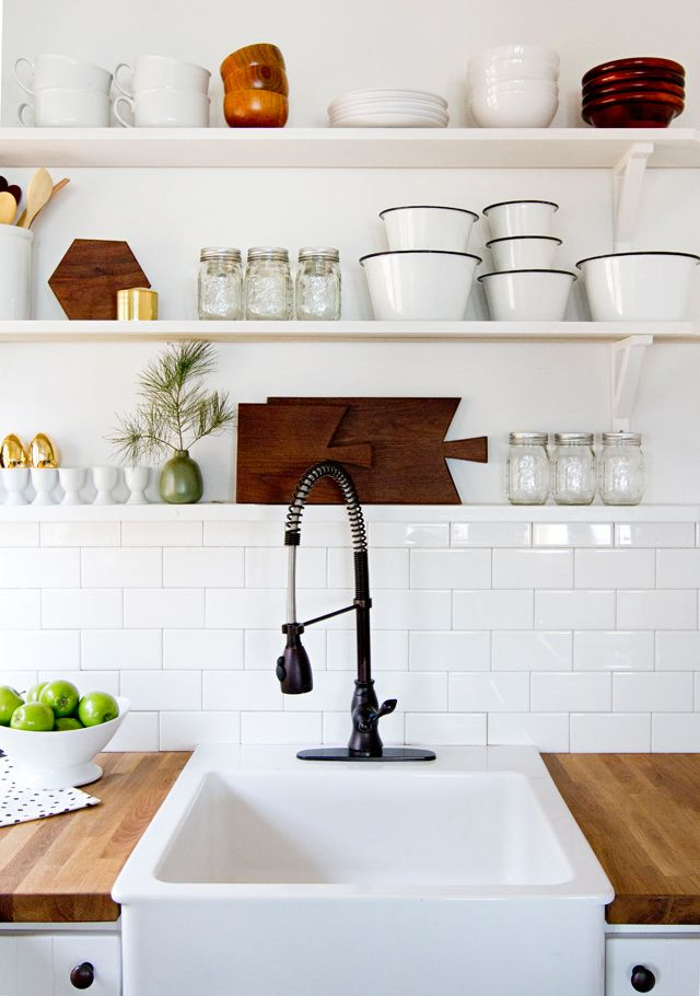 Interior Envy Open Kitchen Shelves Pardon My French