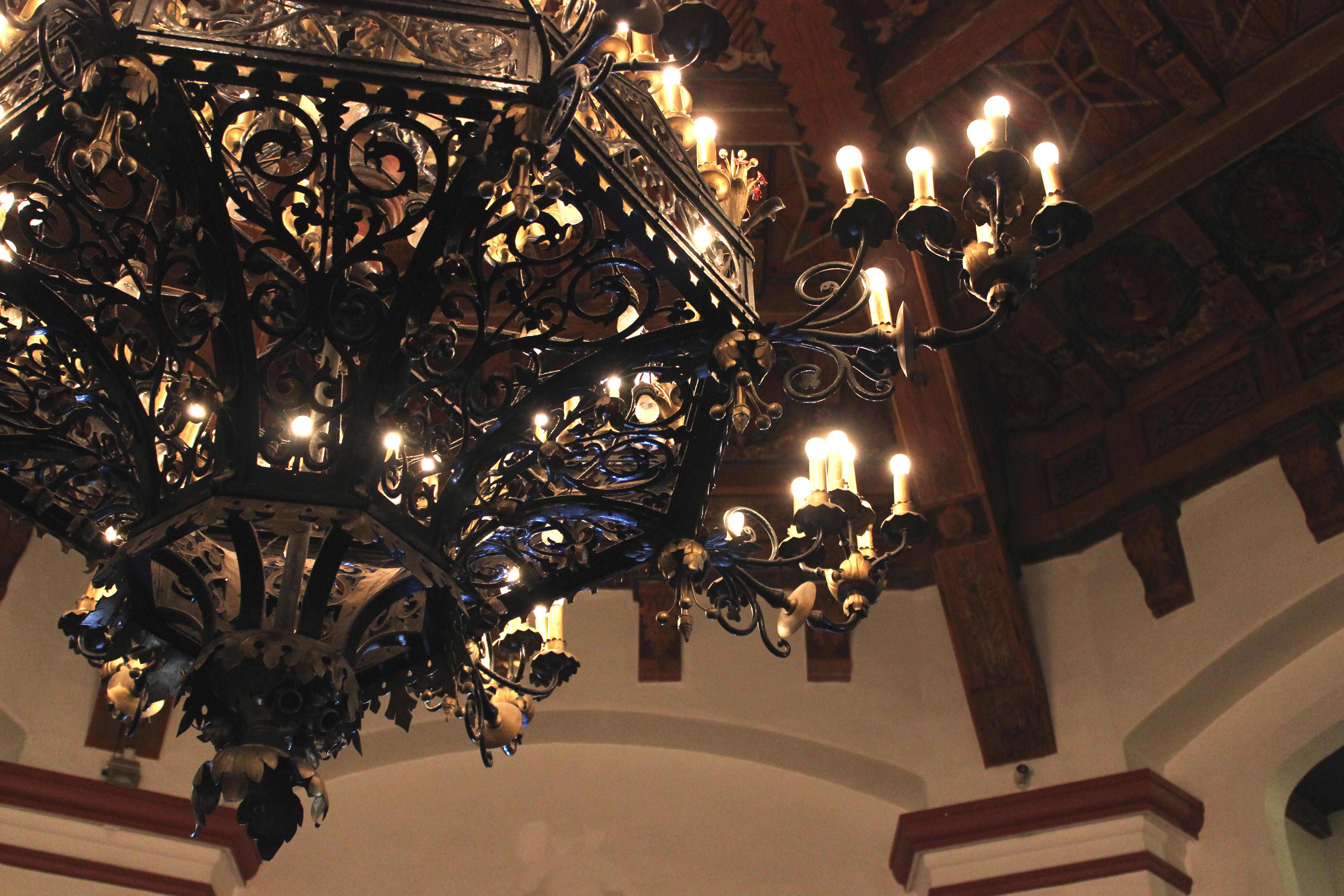 Viva mxico pardon my french chandelier aloadofball Choice Image